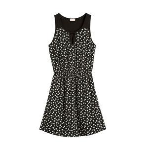 Pixley Stitch Fix Black & White Print Dress SZ L